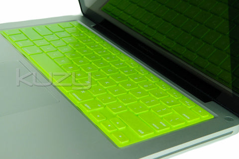 "Solid Metallic - Keyboard Cover Skin Silicone for MacBook Pro 13"" 15"" 17"" - Kuzy  