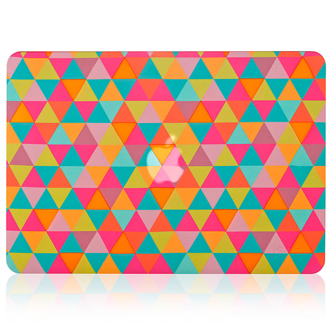 "Triangle Design Rubberized Hard Case | MacBook Pro 13.3"" Retina Display"