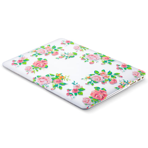 MacBook Air 13 inch Case Rubberized with Print Design (Older Version)