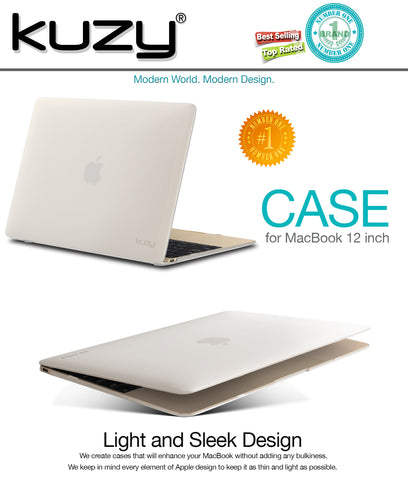 Rubberized Hard Case for MacBook 12-inch