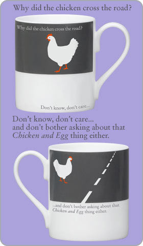 Silhouette Mug Chicken