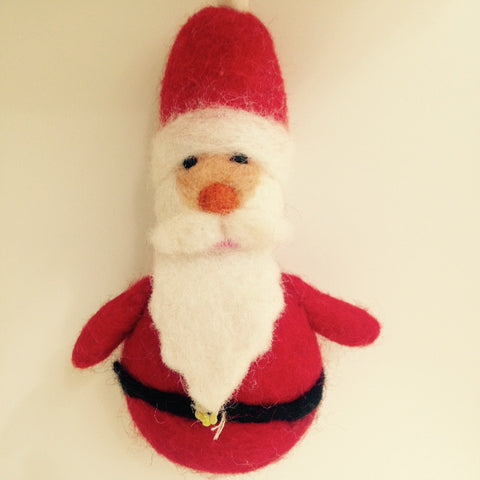 Amica Christmas Santa Felt Decoration