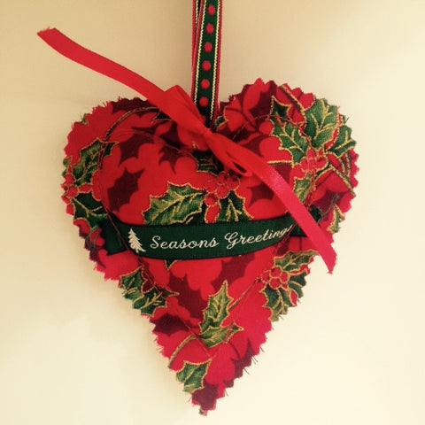 Scented Heart Decoration