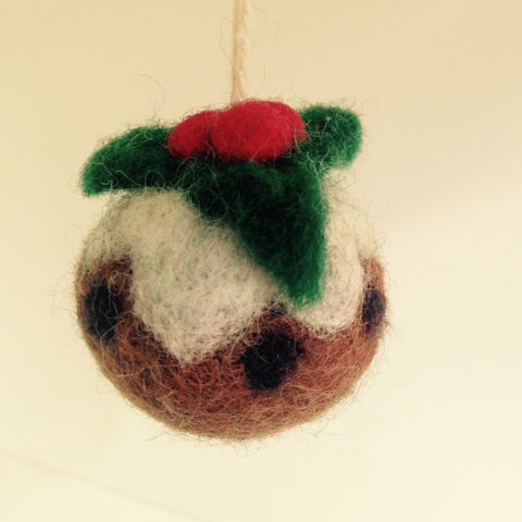 Amica Christmas Pudding Decoration