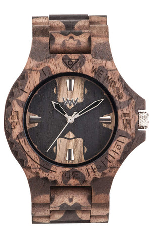 WeWood Date Mirror Nut Watch