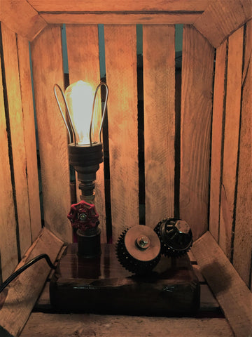 AJ Metal&Light Medium Industrial Table Lamp