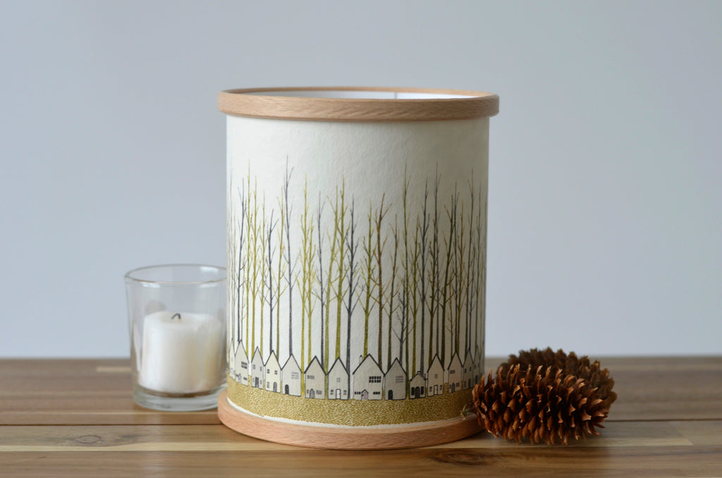 A Northern Light Houses Candle cover