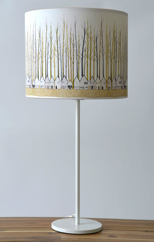 A Northern Light Houses Lampshade