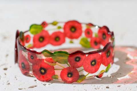 Acdria Poppy Bangle