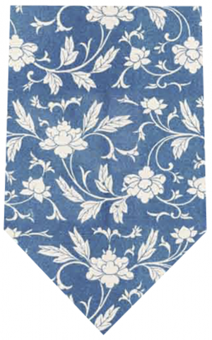 Chinoiserie Blue Tie