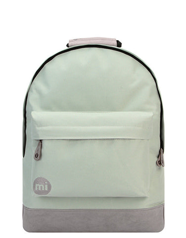 Mi-Pac Classic Pistachio And Grey Backpack