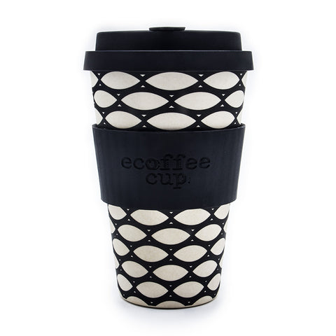 Ecoffee Cup In Basketcase Print
