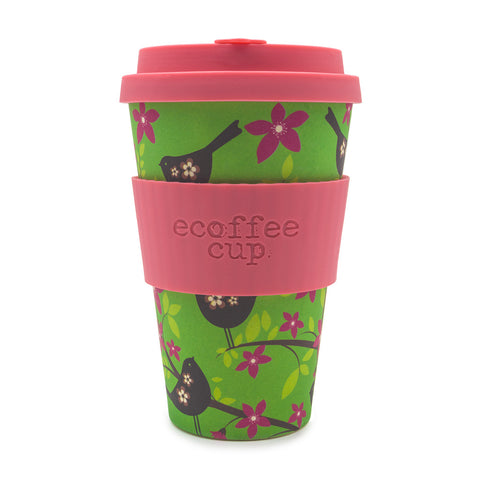 Ecoffee Cup In Widdlebirdy Print