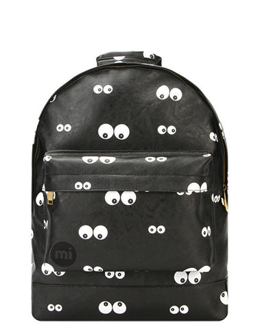 Mi-Pac Eyes Black Backpack