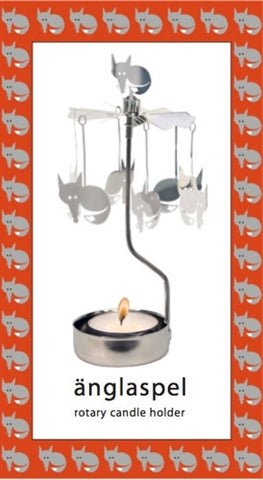 Fox Rotary Candle Holde
