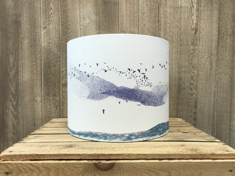 A Northern Light Murmuration Lampshade