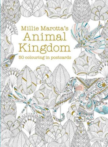 Millie Marotta's Animal Kingdom Box Of Postcards