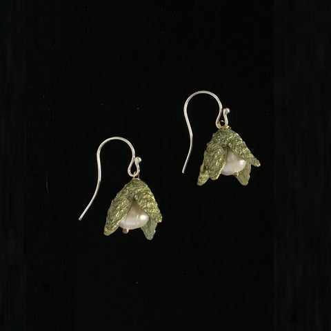 Michael Michaud Beech Nut Drop Earrings