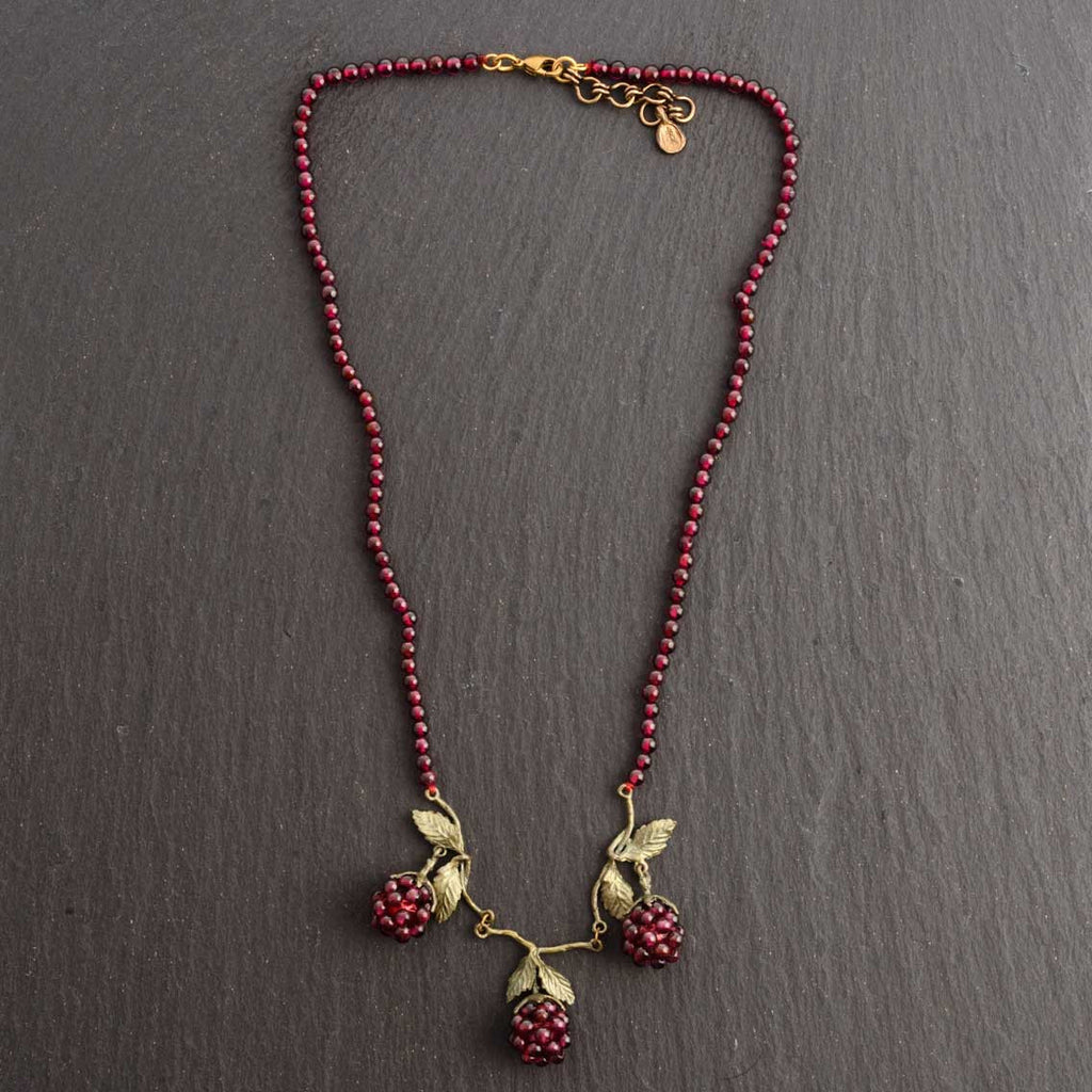 Michael Michaud Raspberry Necklace