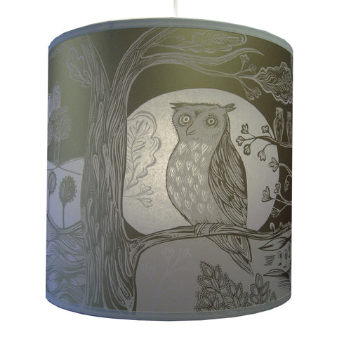 Lush Designs Owl Lampshade Gold