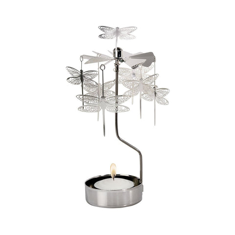 Dragonfly Rotary Candle Holder