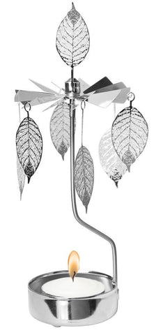 Hanging Leaf Rotary Candle Holder