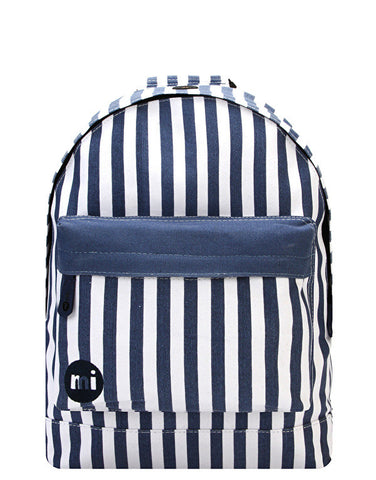 Mi-Pac Blue Seaside Stripe Backpack