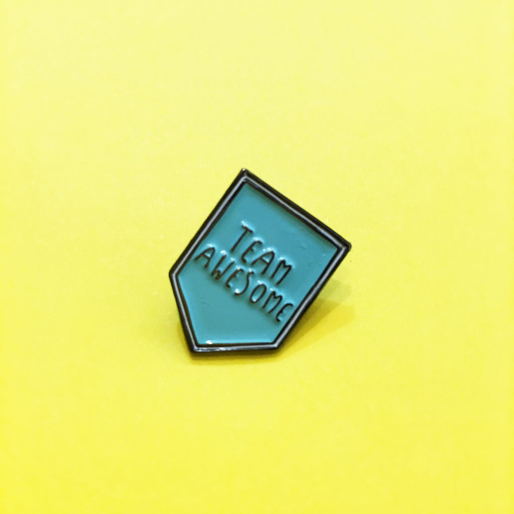 HOW Team Awesome Enamel Pin