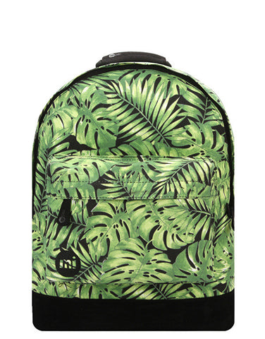 Mi-Pac Green Tropical Leaf Backpack