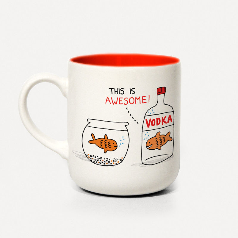UStudio Vodka Fish Mug