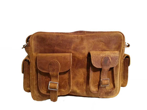 Scaramanga Vintage Flight Bag 13""