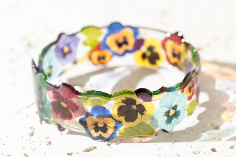Acdria Pansy Bangle