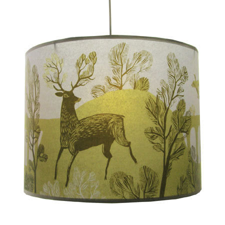 Lush Designs Stag Lampshade Gold