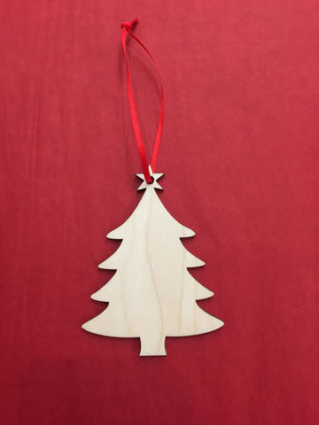 Artcuts Birch Christmas Tree Christmas Decoration