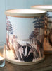 A Northern Light Badger Candle Cover