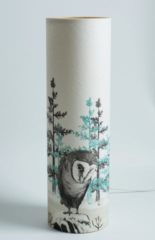 A Northern Light Barn Owl Table Lamp