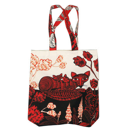 Lush Designs Fox & Cubs Bag Red