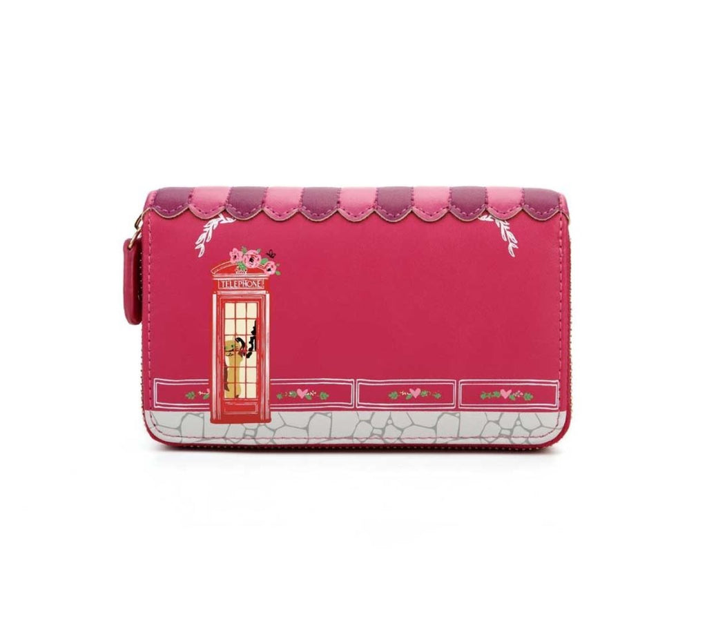 Vendula Biscuit Shop Cherry Medium Zip Wallet