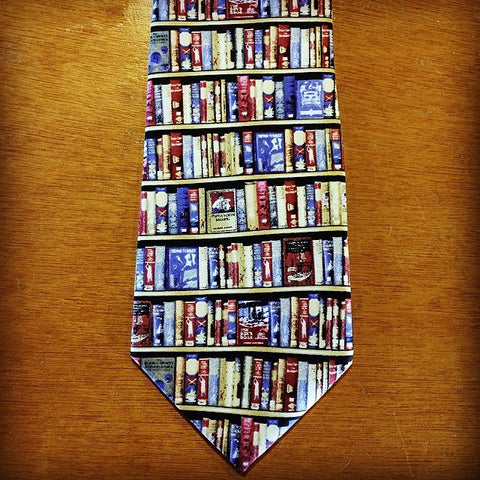 Fox and Chave Bodleian Library Silk Tie