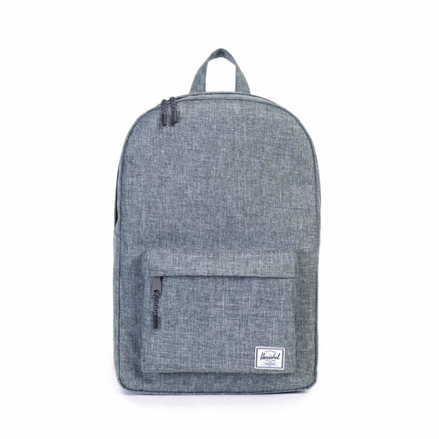 Herschel Classic Backpack In Raven Crosshatch