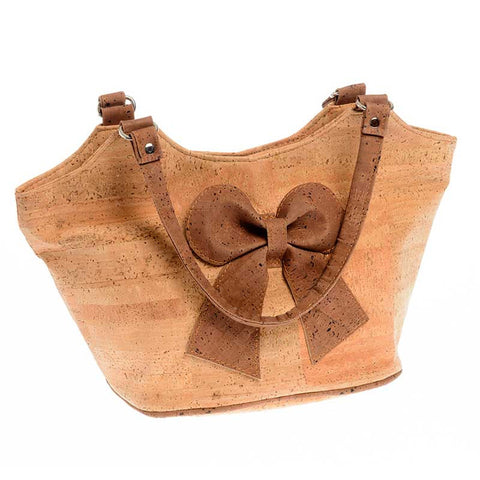 Corticeira Viking Cork Bow Bag