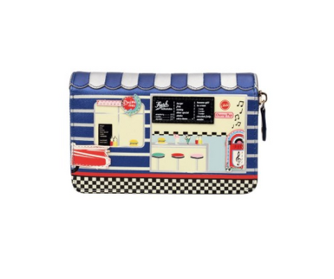 Vendula Diner Medium Zip Wallet