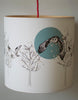 A Northern Light Flying Owl Lampshade