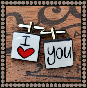 I Heart You Cufflinks
