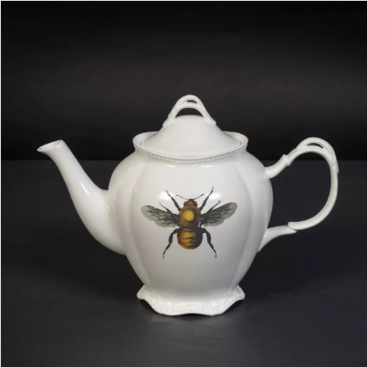 Cubic Curio Insect Teapot