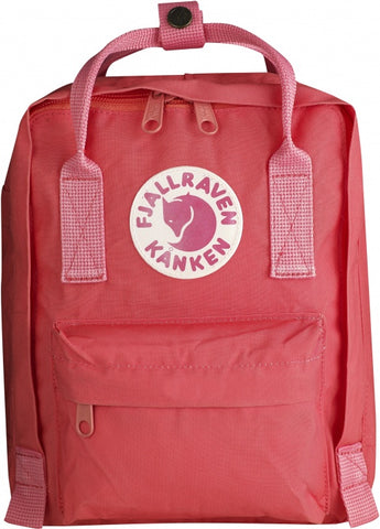 Fjallraven Mini Kanken Backpack In Peach Pink