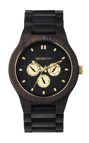 WeWood Kappa Black RO Watch