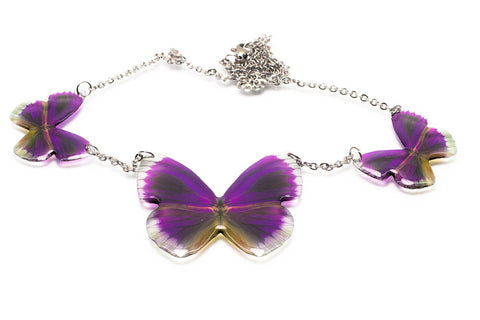 Magic Accessories Lamas Butterfly Necklace