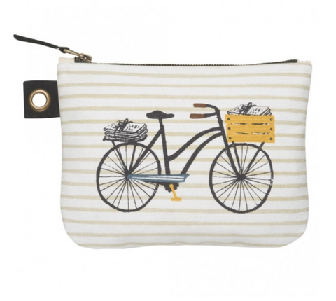 Cubic Large Bicycle Zipper Pouch