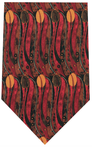 Fox And Chave Mackintosh Tulip Tie